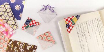 簡単な手作りしおりの作り方!好きな折り紙を用意するだけでOK