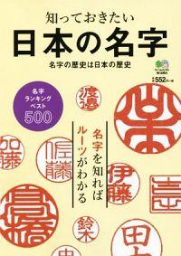 書籍『知っておきたい 日本の名字』表紙