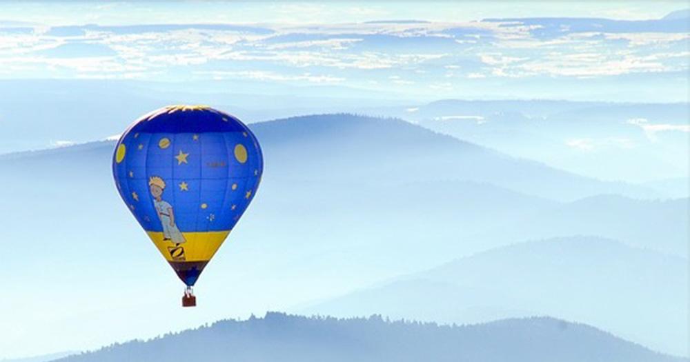 「星の王子さま」の熱気球