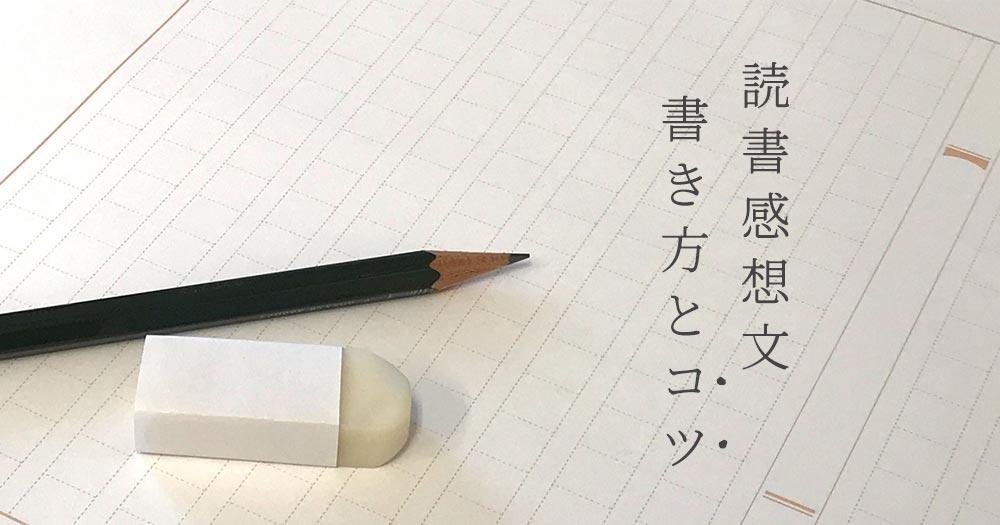 【必読】読書感想文の書き方とコツ