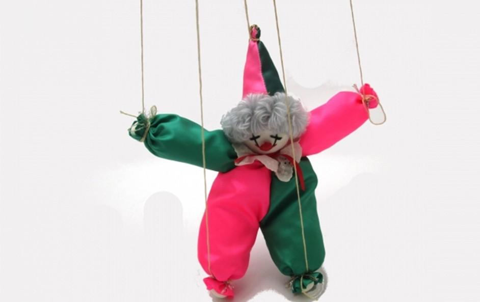 ピエロの人形