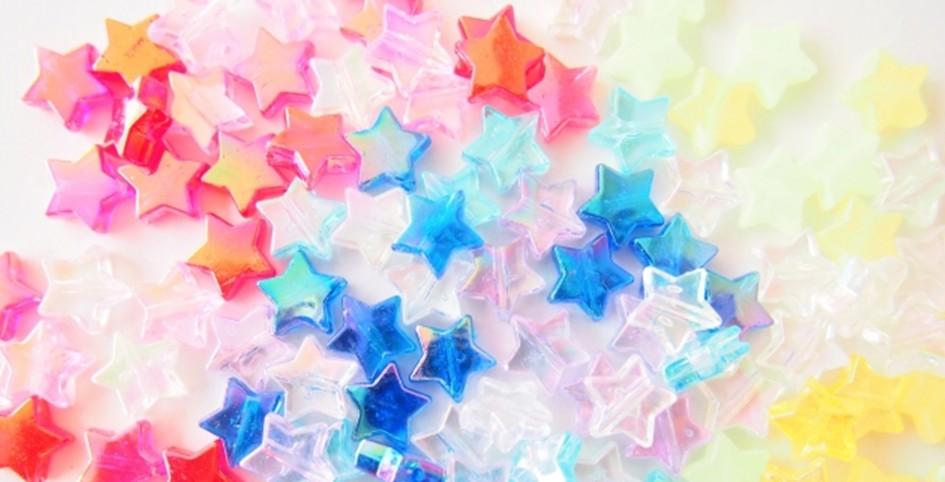 ビーズの星