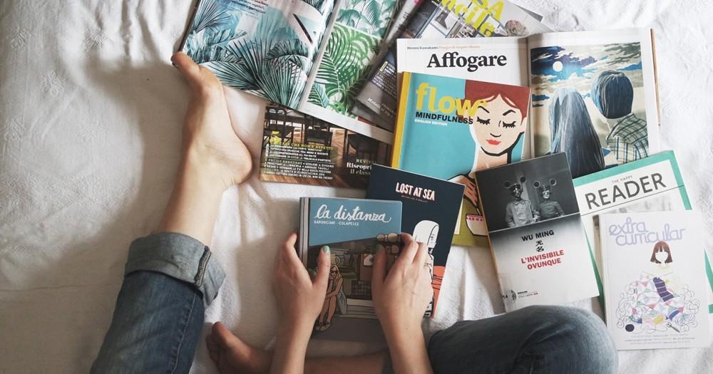 雑誌・パンフレットなど薄い本の収納方法