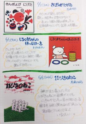 読書ノート絵本