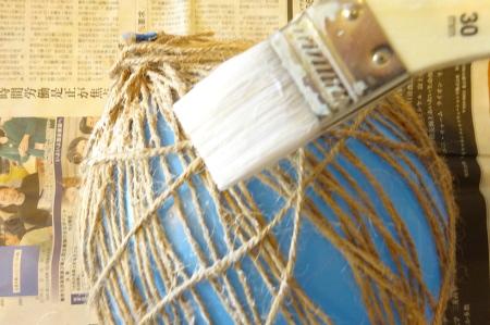 麻ひもブックライトの作り方3