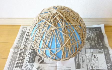 麻ひもブックライトの作り方4