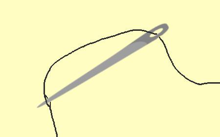 革製ブックカバーの作り方12