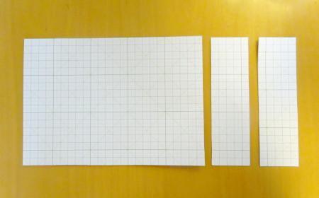 革製ブックカバーの作り方1