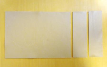 革製ブックカバーの作り方4