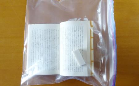 プラスチックバッグ×消しゴム