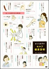 おとな女子のセルフ健康診断表紙